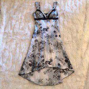 A. Byer High/Low Dress